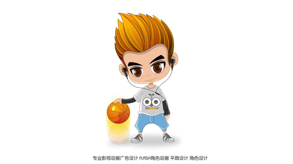 乐峰卡通人物形象设计